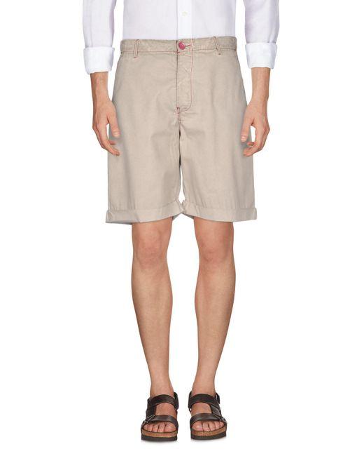 Armani Jeans - Natural Bermuda for Men - Lyst