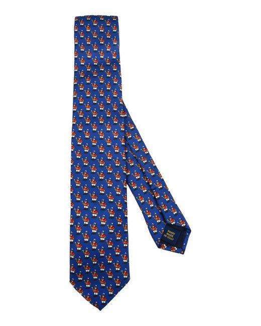 Polo Ralph Lauren   Blue Tie for Men   Lyst