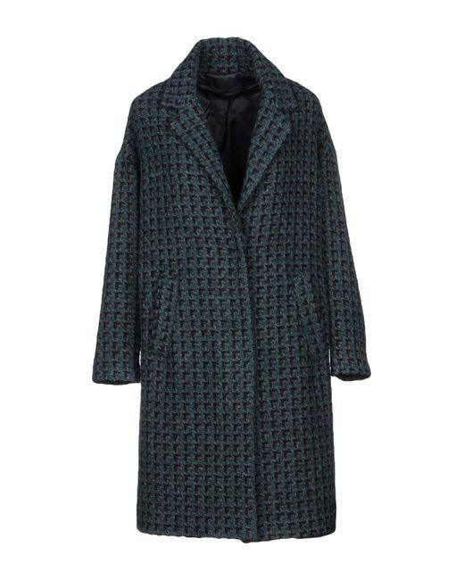 Paltò - Green Coat - Lyst