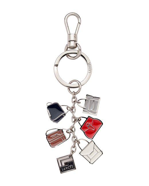 Lancel - Metallic Key Ring - Lyst