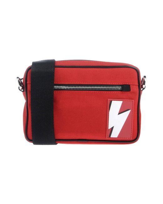Neil Barrett - Red Cross-body Bags for Men - Lyst