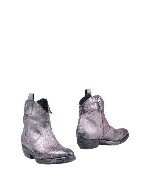 Divine Follie - Purple Ankle Boots - Lyst