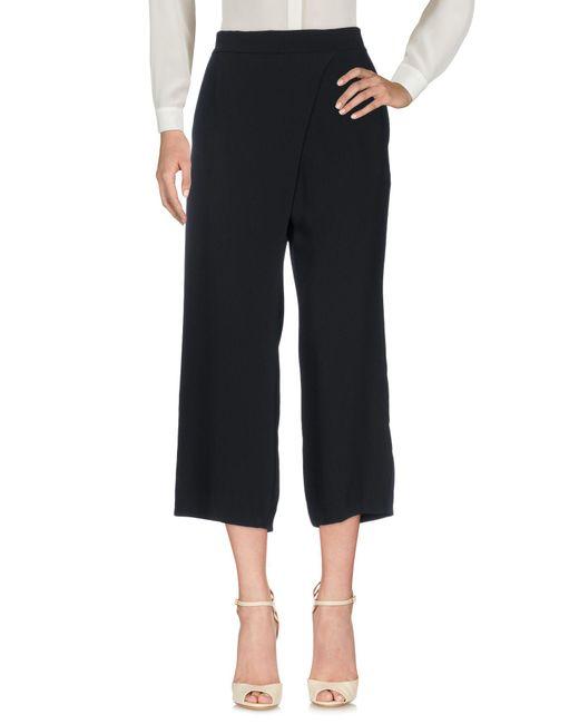 P.A.R.O.S.H. - Black 3/4-length Trousers - Lyst