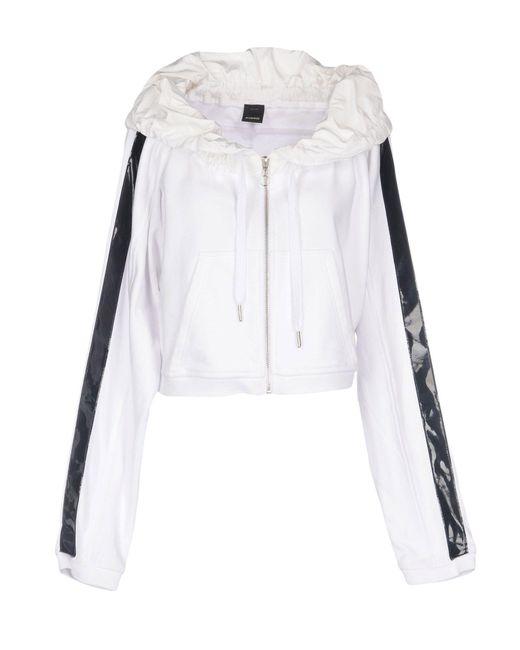 Pinko - White Sweatshirts - Lyst