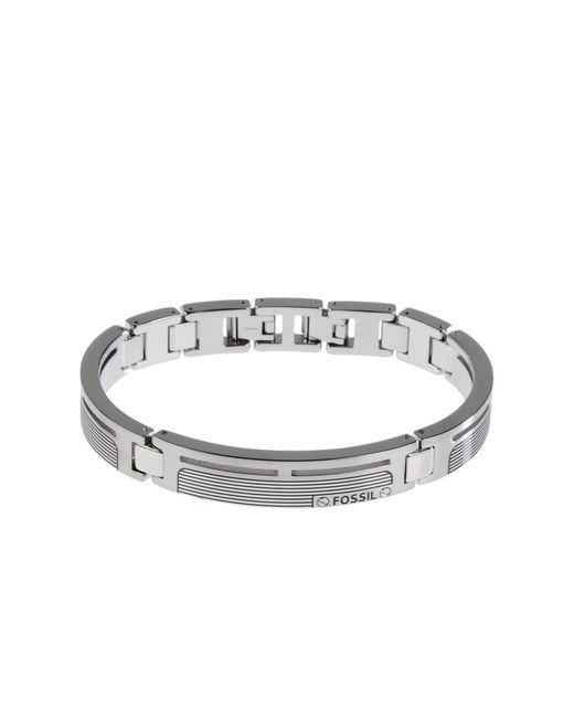 Fossil - Metallic Bracelets for Men - Lyst