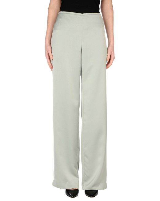 Armani | Green Casual Trouser | Lyst