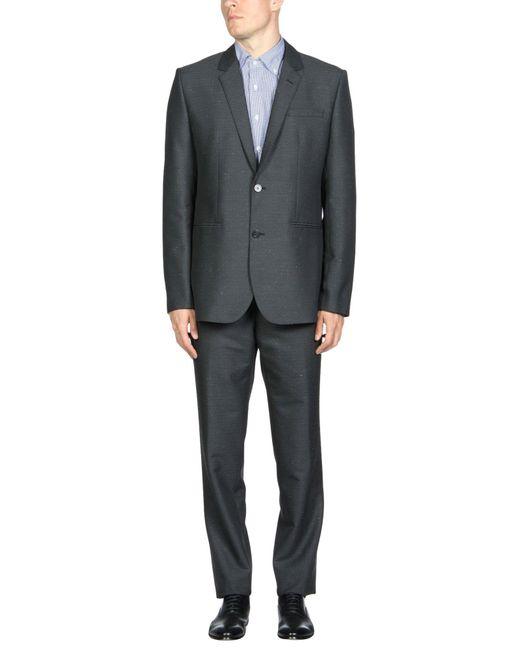 Emporio Armani - Gray Suit for Men - Lyst