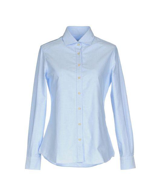 Mosca_ - Blue Shirt - Lyst