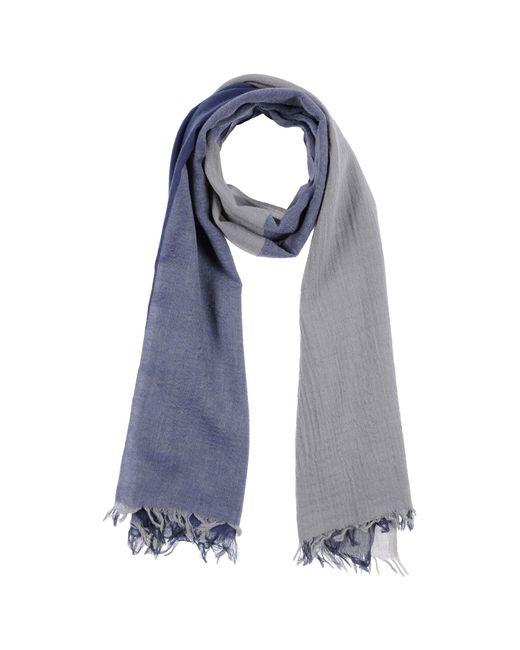 Jeckerson - Blue Oblong Scarves for Men - Lyst
