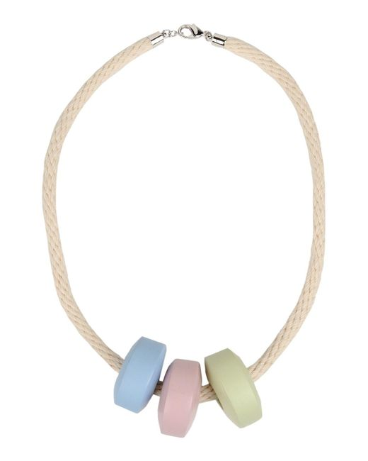 MM6 by Maison Martin Margiela - Natural Necklace - Lyst