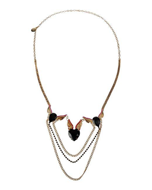 Roberto Collina - Metallic Necklace - Lyst