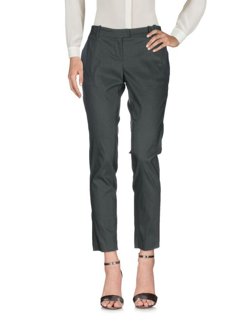 Malloni - Green Casual Pants - Lyst