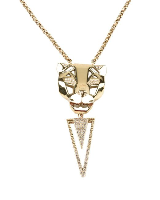 Just Cavalli | Metallic Necklace | Lyst