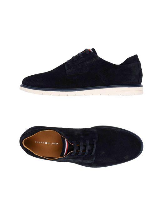Tommy Hilfiger - Blue Lace-up Shoe for Men - Lyst