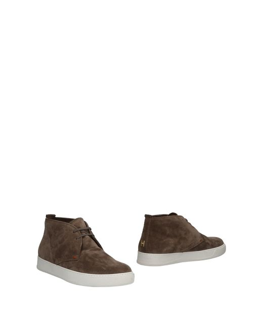 Henderson - Gray Ankle Boots for Men - Lyst