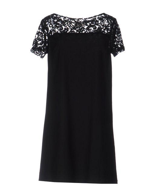 Roberta Scarpa | Black Short Dress | Lyst