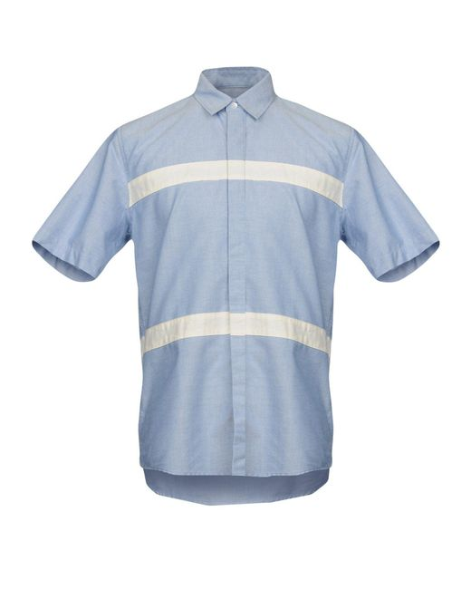 Soulland - Blue Shirt for Men - Lyst