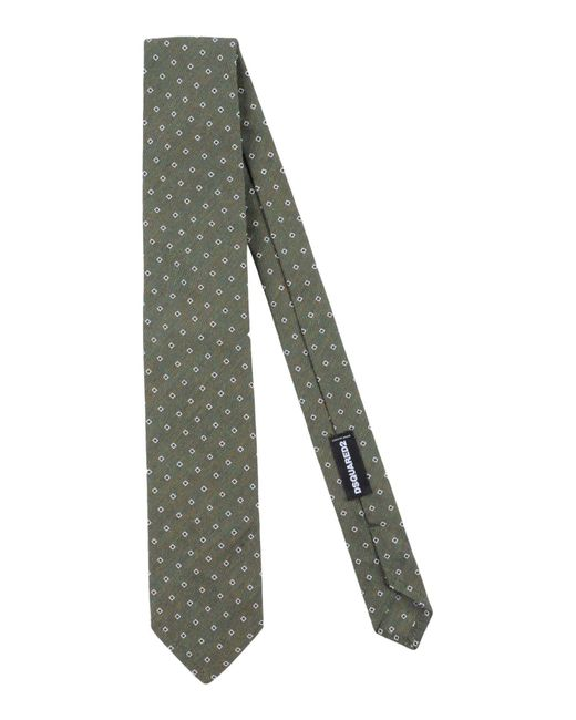 DSquared² - Green Tie for Men - Lyst