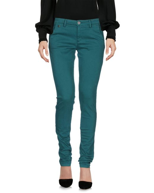 40weft - Green Casual Pants - Lyst