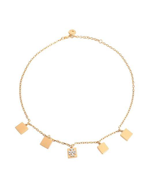 Tory Burch Metallic Necklace