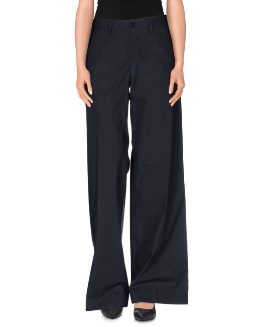 Aspesi - Blue Casual Pants - Lyst