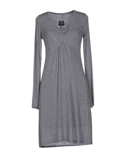 Made In Heaven | Gray Short Dress | Lyst