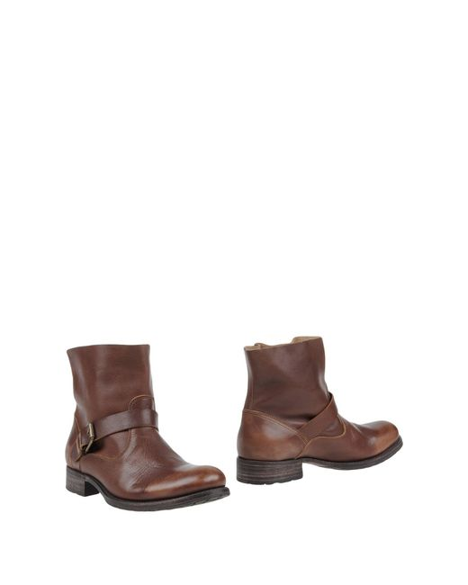 N.d.c. Made By Hand | Brown Ankle Boots | Lyst