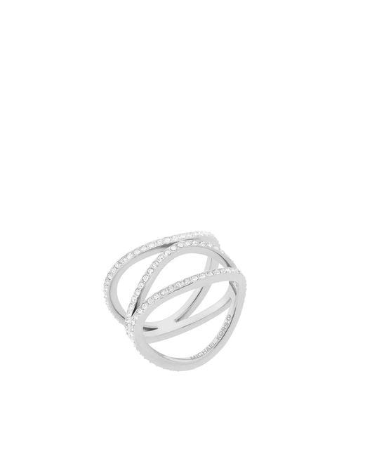 Michael Kors - Metallic Mkj6639040003 Ladies Ring - Lyst