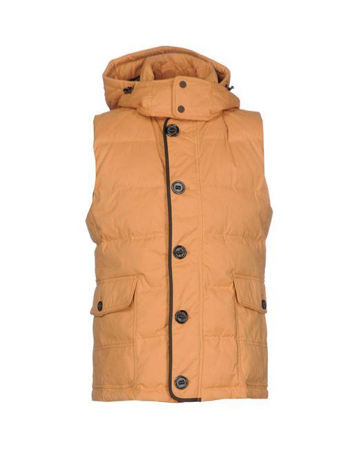 Jan Mayen - Orange Down Jackets for Men - Lyst