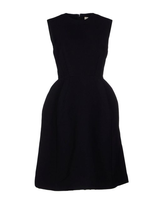Enfold - Black Knee-length Dress - Lyst