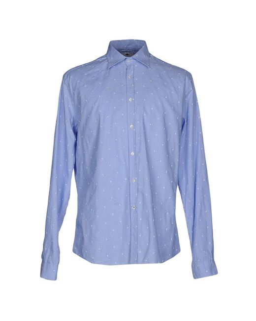 Macchia J - Blue Shirt for Men - Lyst