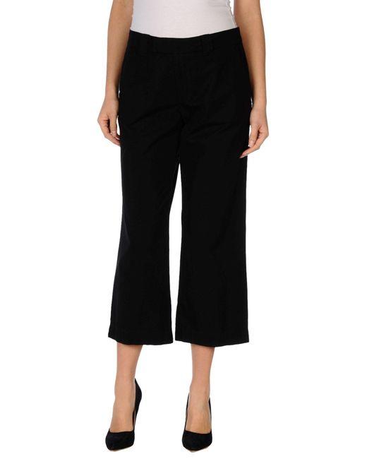 Maliparmi | Black 3/4-length Trousers | Lyst