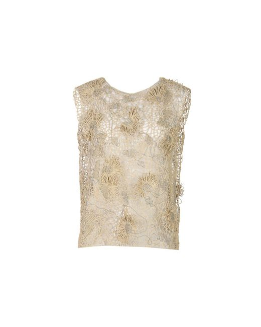 Brunello Cucinelli | Natural Top | Lyst