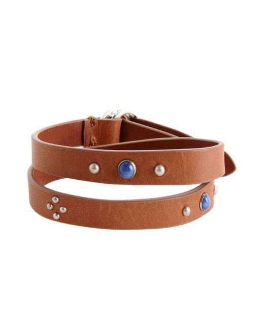 Bracelet Maison Margiela pour homme en coloris Brown