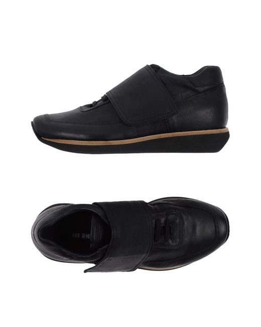 Ann Demeulemeester - Black Low-tops & Sneakers - Lyst
