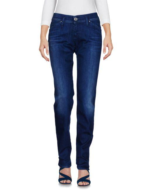 Armani Jeans   Blue Denim Pants   Lyst