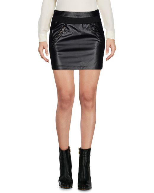 Ki6? Who Are You? - Black Mini Skirts - Lyst