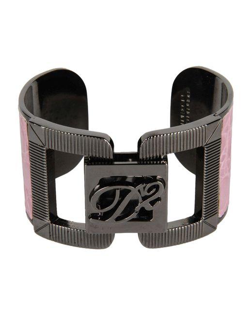 DSquared²   Pink Bracelet   Lyst