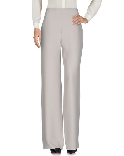 Armani - Gray Casual Pants - Lyst