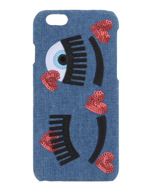 Chiara Ferragni - Blue Eyes Iphone 7 Plus Case - Lyst
