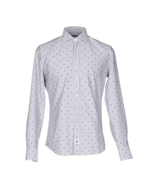 Hydrogen | Black Shirt for Men | Lyst