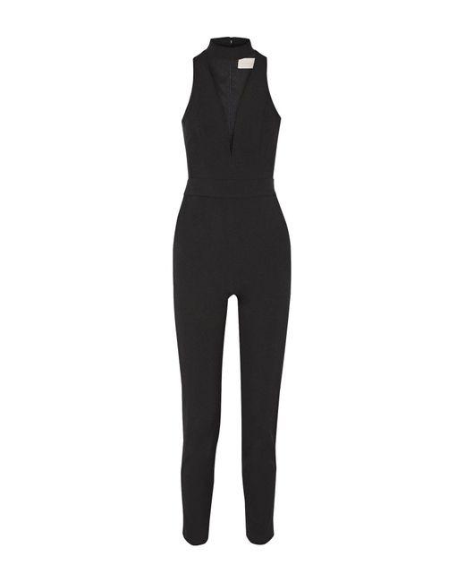 Michelle Mason - Black Jumpsuit - Lyst