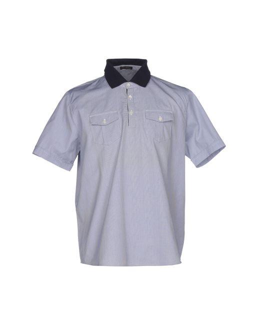 Ballantyne - Blue Shirts for Men - Lyst