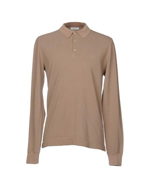 Boglioli - Natural Polo Shirt for Men - Lyst