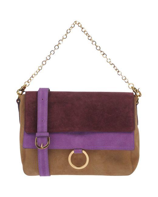 L'Autre Chose - Purple Cross-body Bag - Lyst