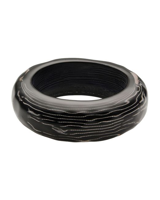 Tom Rebl - Black Bracelet - Lyst