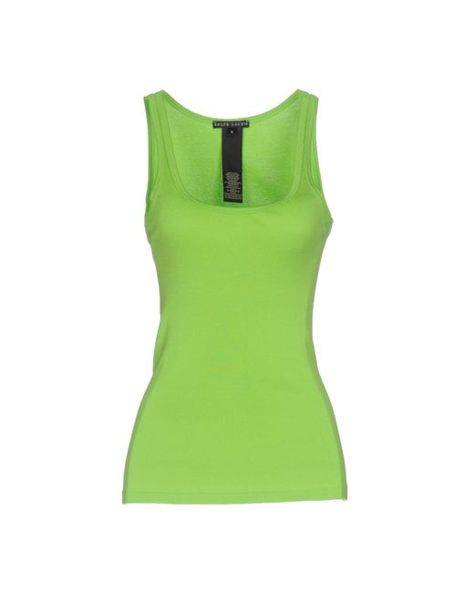 Ralph Lauren Black Label | Green Tank Top | Lyst