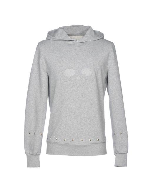 Hydrogen - Gray Sweatshirts for Men - Lyst