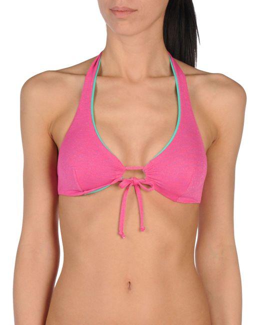 Verdissima - Multicolor Bikini Top - Lyst
