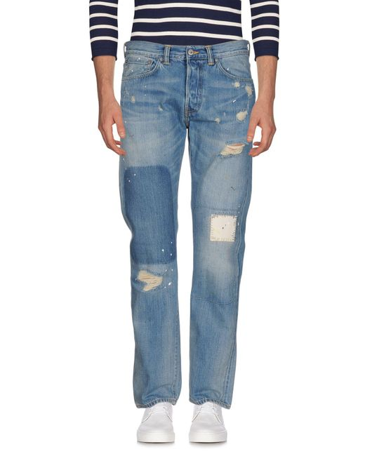 Edwin | Blue Denim Pants for Men | Lyst